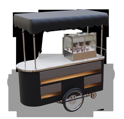 Wózek gastronomiczny customizowany
