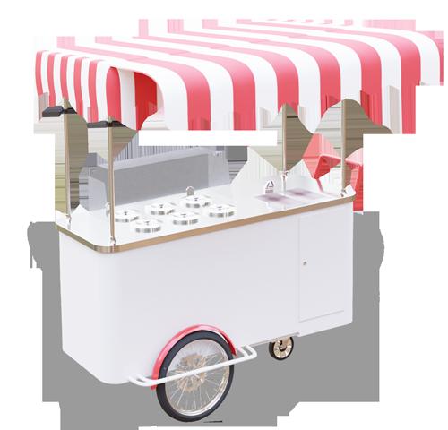 Wózek gastronomiczny do lodów - wersja optimum