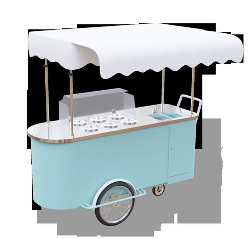 Wózek gastronomiczny do lodów 6 smaków - wersja optimum