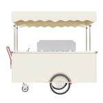 Wózek gastronomiczny do lodów - rzut klient
